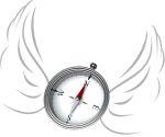 engelen feng shui kompas